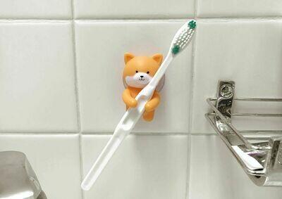 Porte brosse-à-dents chien