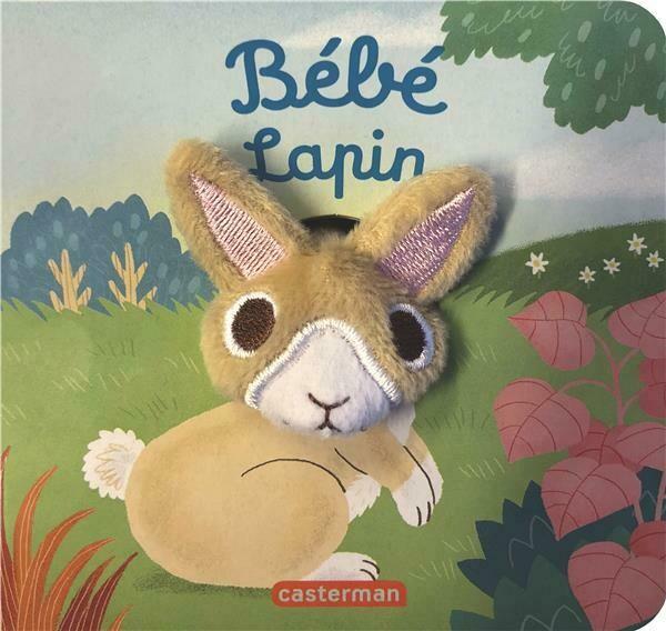 Livre marionnette pour bébé - Bébé lapin
