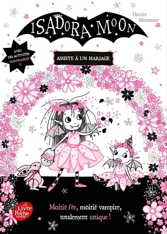 Livre enfant première lecture - Isadora Moon assiste à un mariage