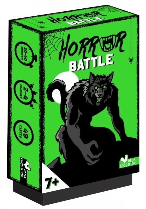 Jeu de cartes - Horror Battle