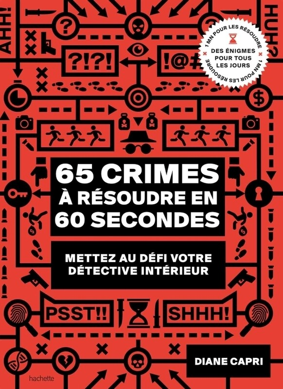 Livre Jeu - 65 crimes a resoudre en 60 secondes