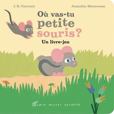 Livre enfants - Où vas-tu petite souris ?
