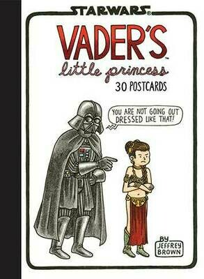 Cartes Postales - Vader's little princess (Anglais)