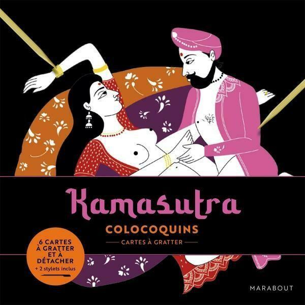 Carte à gratter - Kamasutra
