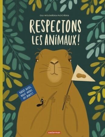 Livre enfant - Respectons les animaux