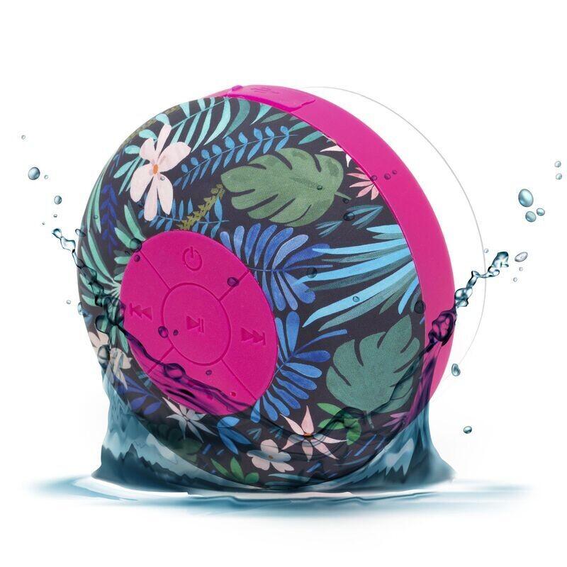 La boom box fleurie pour chanter sous la douche