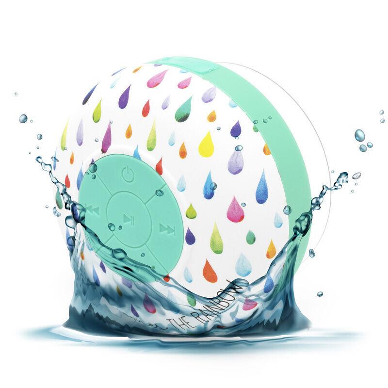 La boom box pour chanter sous la douche et la pluie !