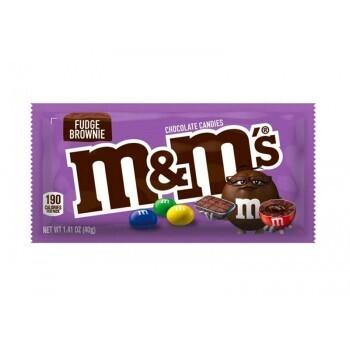 M&M's Fudge Brownie 40 Gr