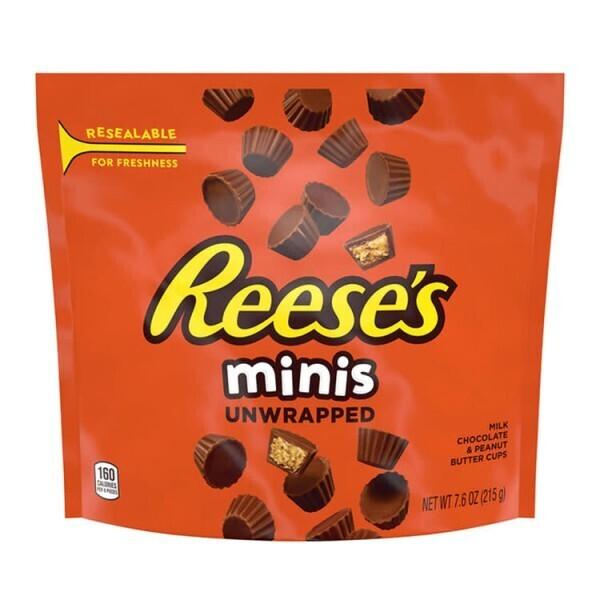Reese's Mini Peanut Butter Cups 215g