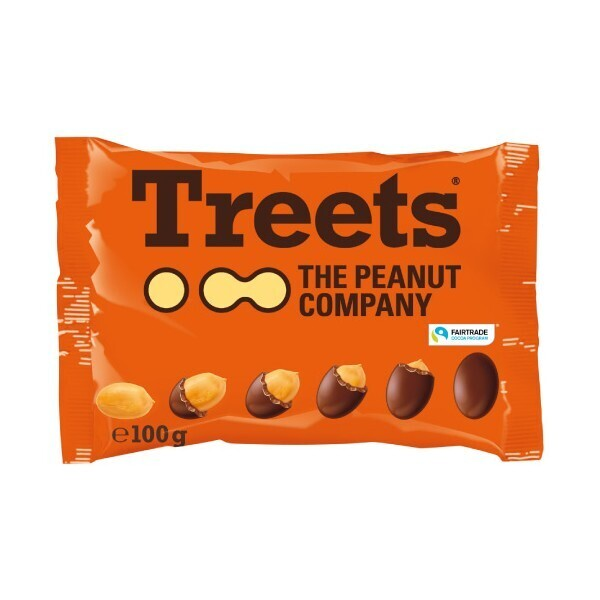 Treets Peanut 100 Gr