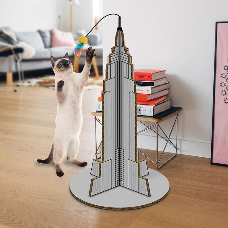 Arbre à chat empire State Building