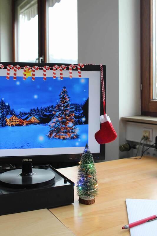 Kit déco de Noël pour le bureau