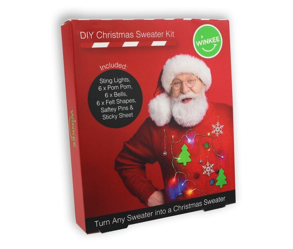 Kit pour décorer son pull de Noël