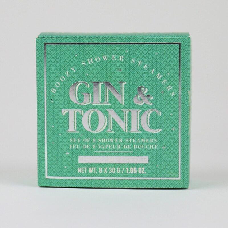 8 bombes de douche gin & tonic