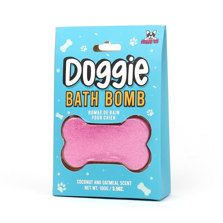 Bombe de bain pour chien
