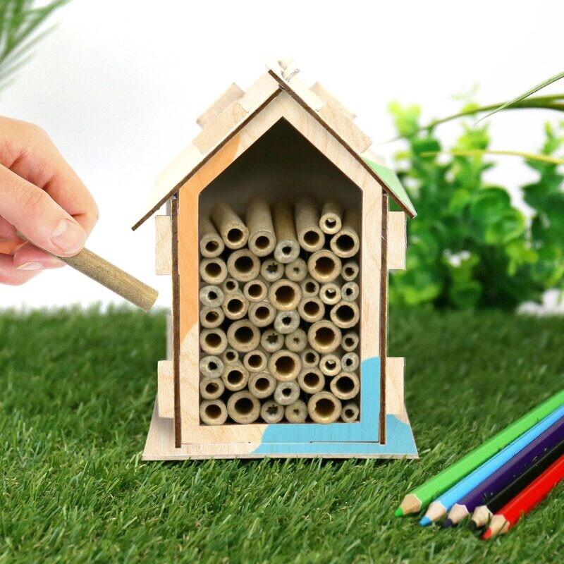 Kit maison à abeilles, à fabriquer soi-même