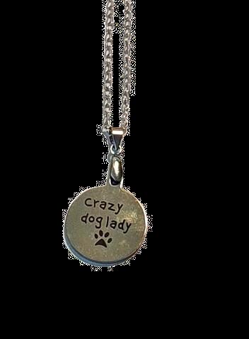 Halsband - crazy dog lady