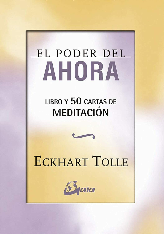 """""""El Poder del Ahora"""" Cartas de Meditación por Eckhart Tolle (50 Cartas + Libro)"""