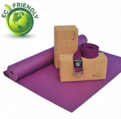 Set de Yoga Eco Friendly VIOLETA