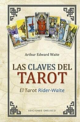 "Libro ""Las Claves del Tarot"" por Arthur Edward Waite."