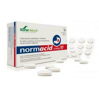 Normacid - Comprimidos 100% naturales para reguladar la acidez o ardores de estómago. (apto para embarazadas)