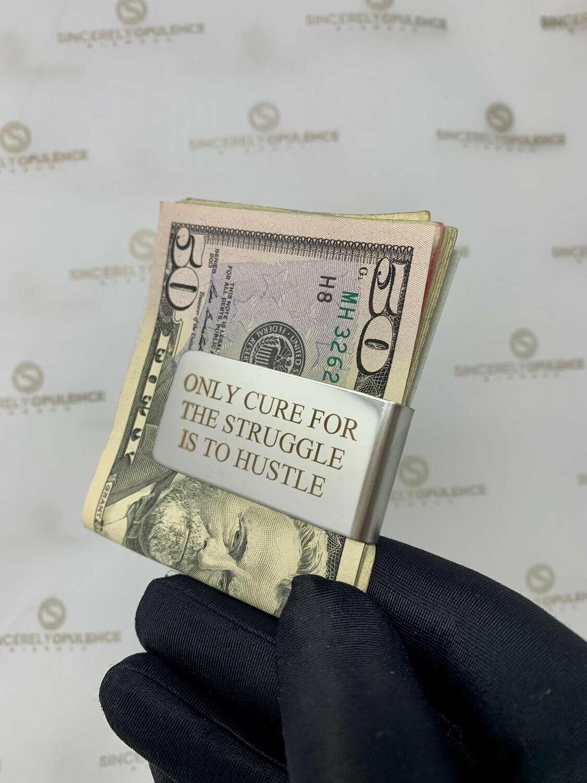 """Hustle"" Money Clip"
