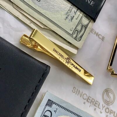 Signature Tie Clip (Gold)