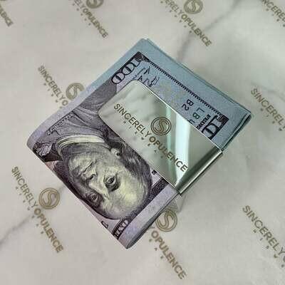 Signature Logo Money Clip