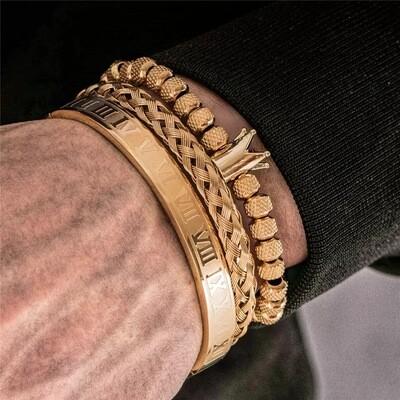 Echelon Bracelet Set (Gold)