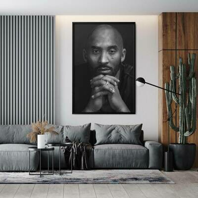Kobe In Thought Canvas