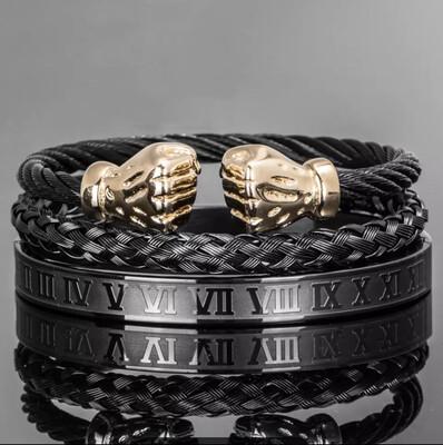 Daps Bracelet Set (Black)