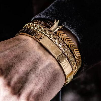 Sire 3pc Bracelet Set