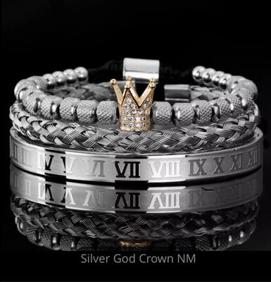 Echelon Bracelet Set (Bling Silver)