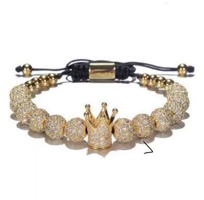"""The Crown"" Pave Bracelet"
