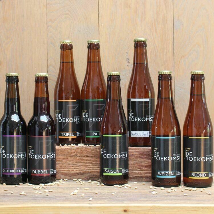Proeverij van bieren (8 flesjes)