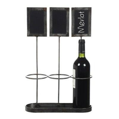 Chalkboard Wine Holder