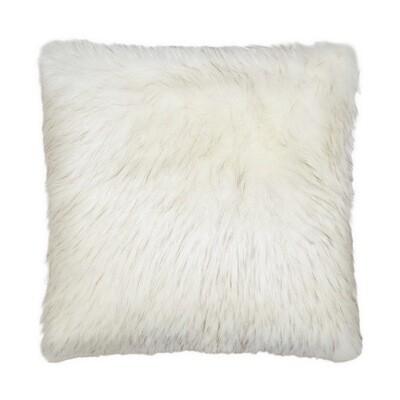 Faux Norwegian-Husky Pillow