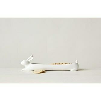 Rabbit Ceramic Cracker Dish