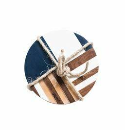 Resin Wood & Geometric Coasters