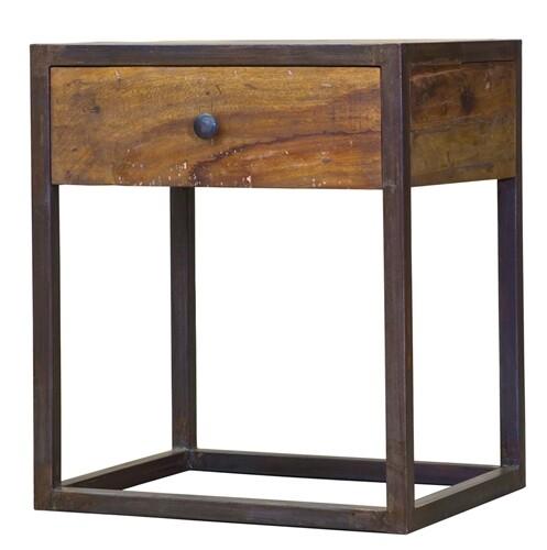 Jackson Iron & Wood 1 Drawer Nightstand