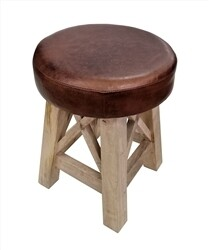 Mango Wood Stool