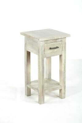 Renew End Table in Vintage Grey