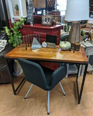 Custom Wood and Metal Desk