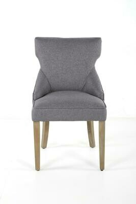 Set of 6 Lucy Dining Chairs in Night Owl Gray