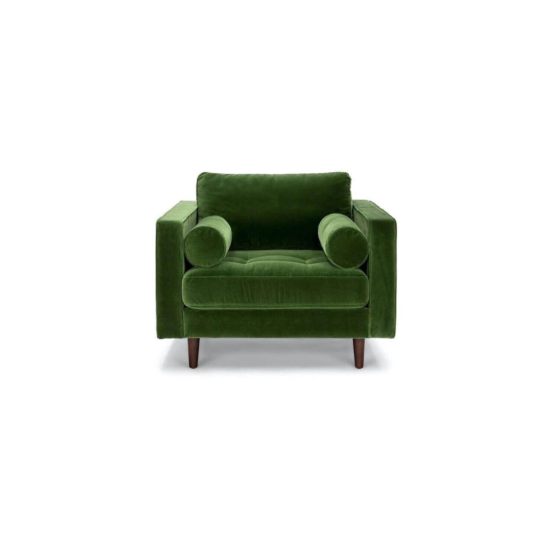 Roma Chair in Emerald Green
