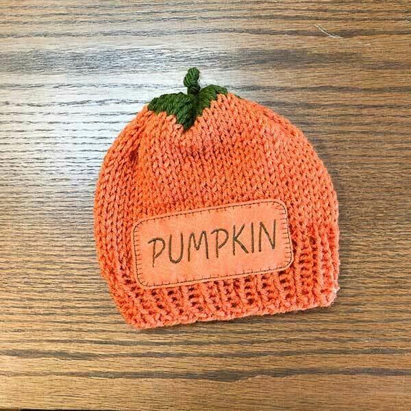 Sz 1-3 Yr. Pumpkin Beanie