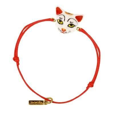 Lucky Cat Charm Bracelet