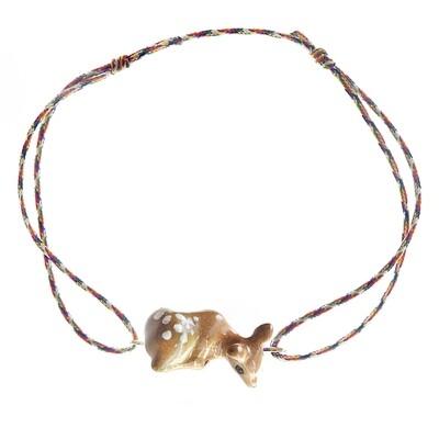 Doe Multicolor Charm Bracelet