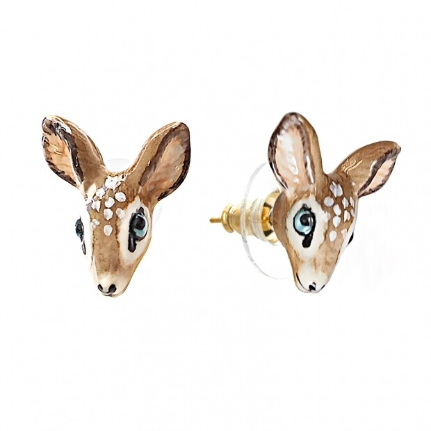 Doe Stud Earrings
