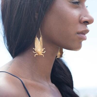 Cicada Earrings